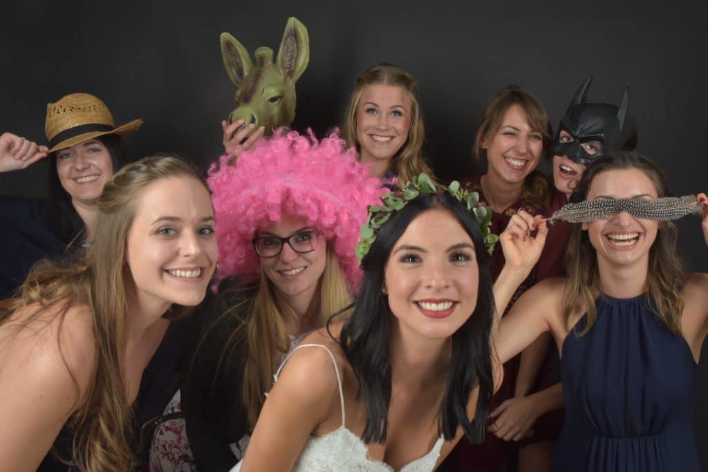 Unsere Gäste haben viel Spaß in der Fotobox