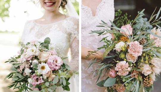 Wunderschöne Blumen die einen wunderschönen Braut