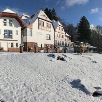 Ausblick vom Hohen Darsberg im Winter