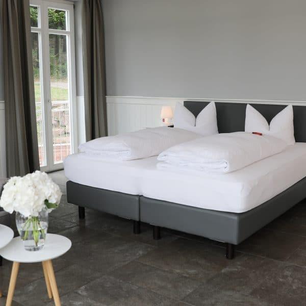 Großes Doppelbettzimmer zur Übernachtung