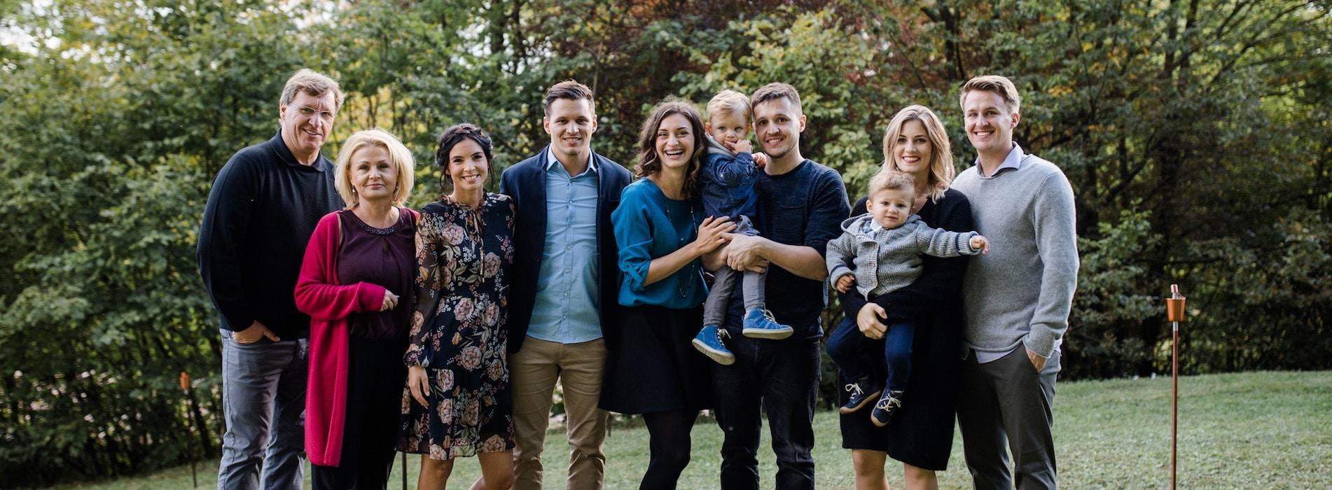 Mit Herz und Seele betreibt unsere Familie die Hochzeitslocation Hoher Darsberg