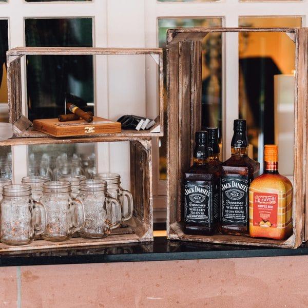 Für Gin-Liebhaber gibt es auf Hoher Darsberg eine Ginbar